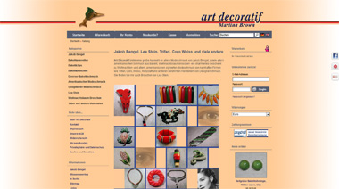 webdesign referenz art decoratif