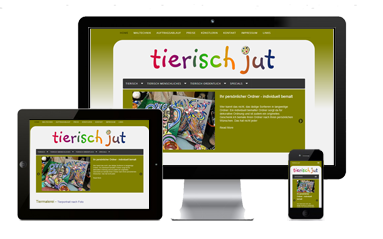 website referenze tierisch jut
